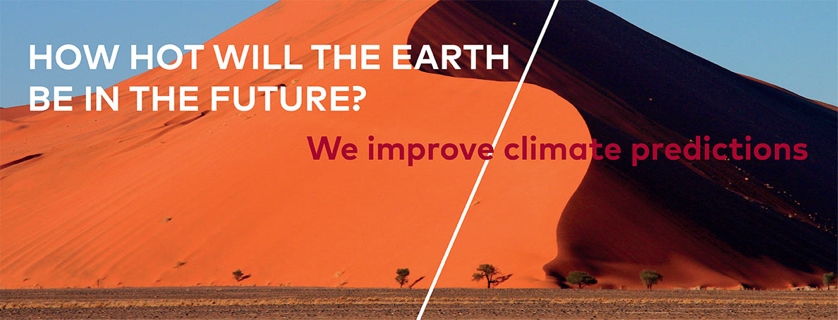 How hot will the earth be in the future? We improve climate predictions